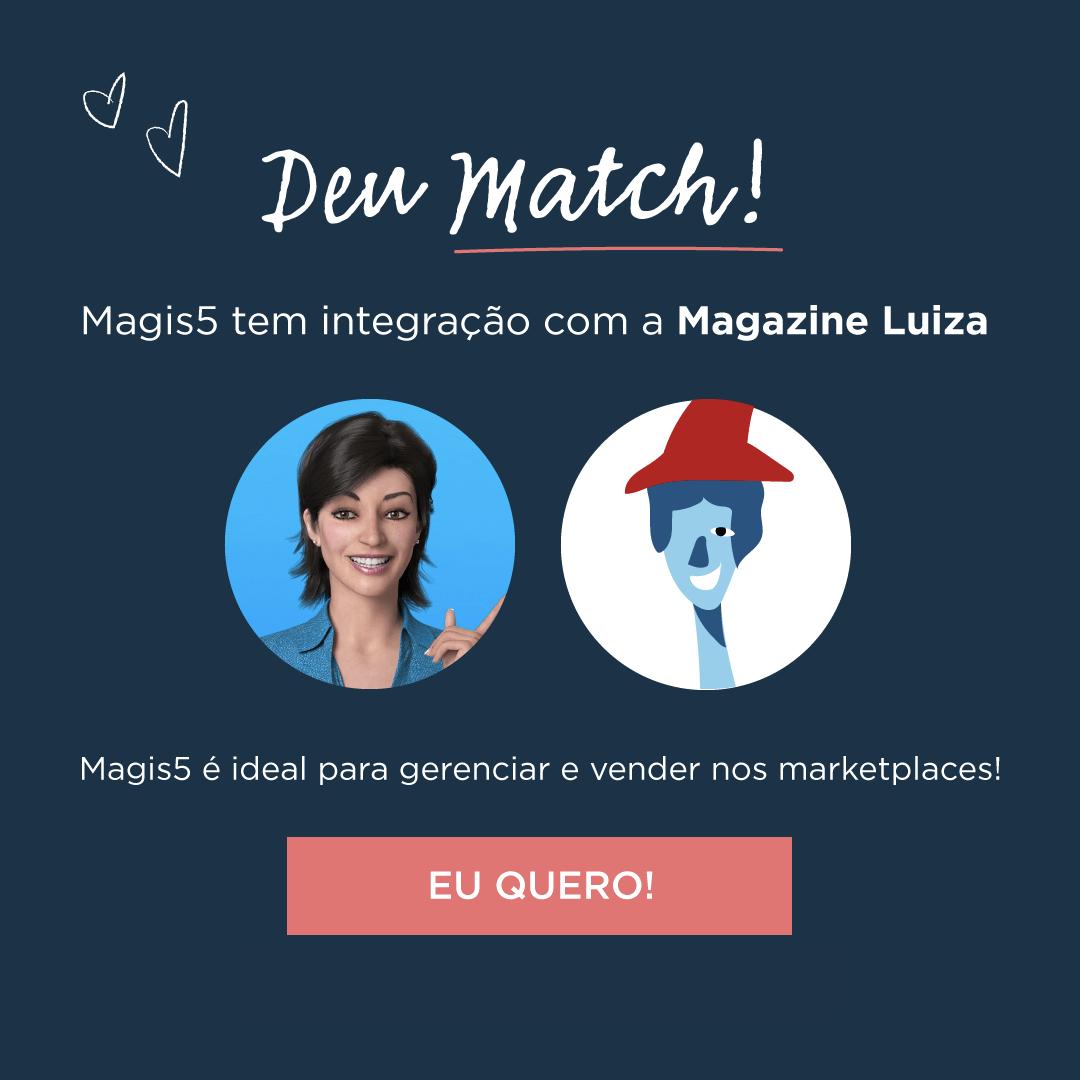 Integração Magis5 e Magazine Luiza