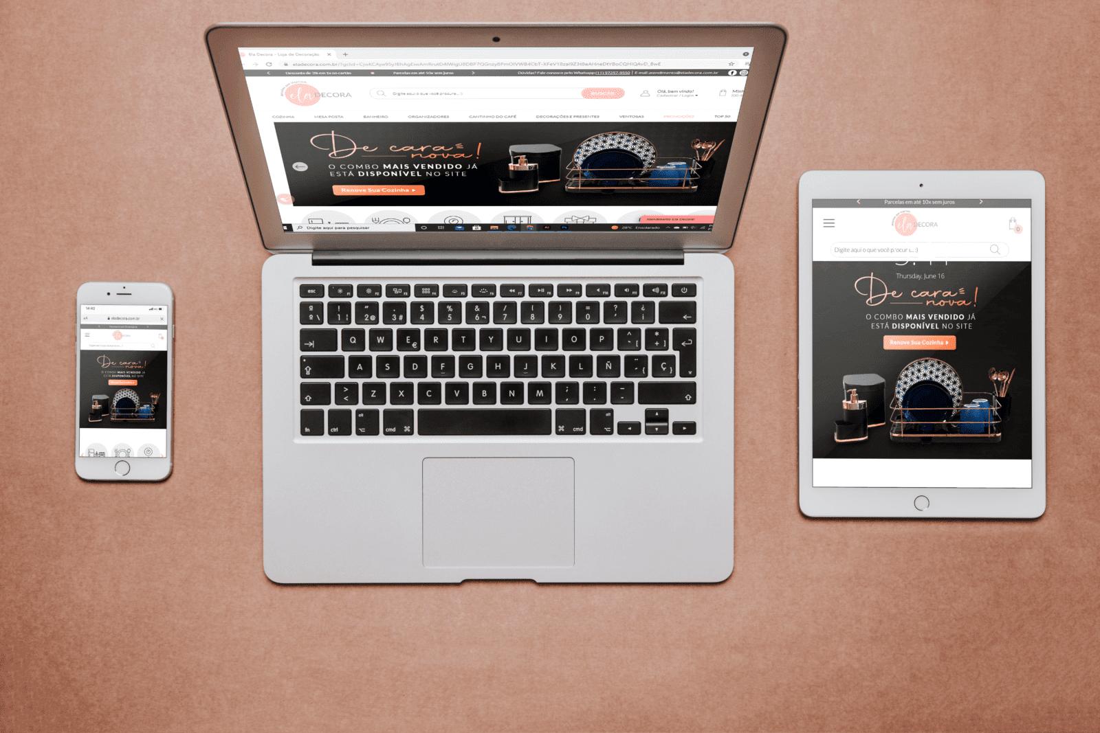 Com startup Magis5, loja virtual Ela Decora registra crescimento de 1.000% nas vendas online